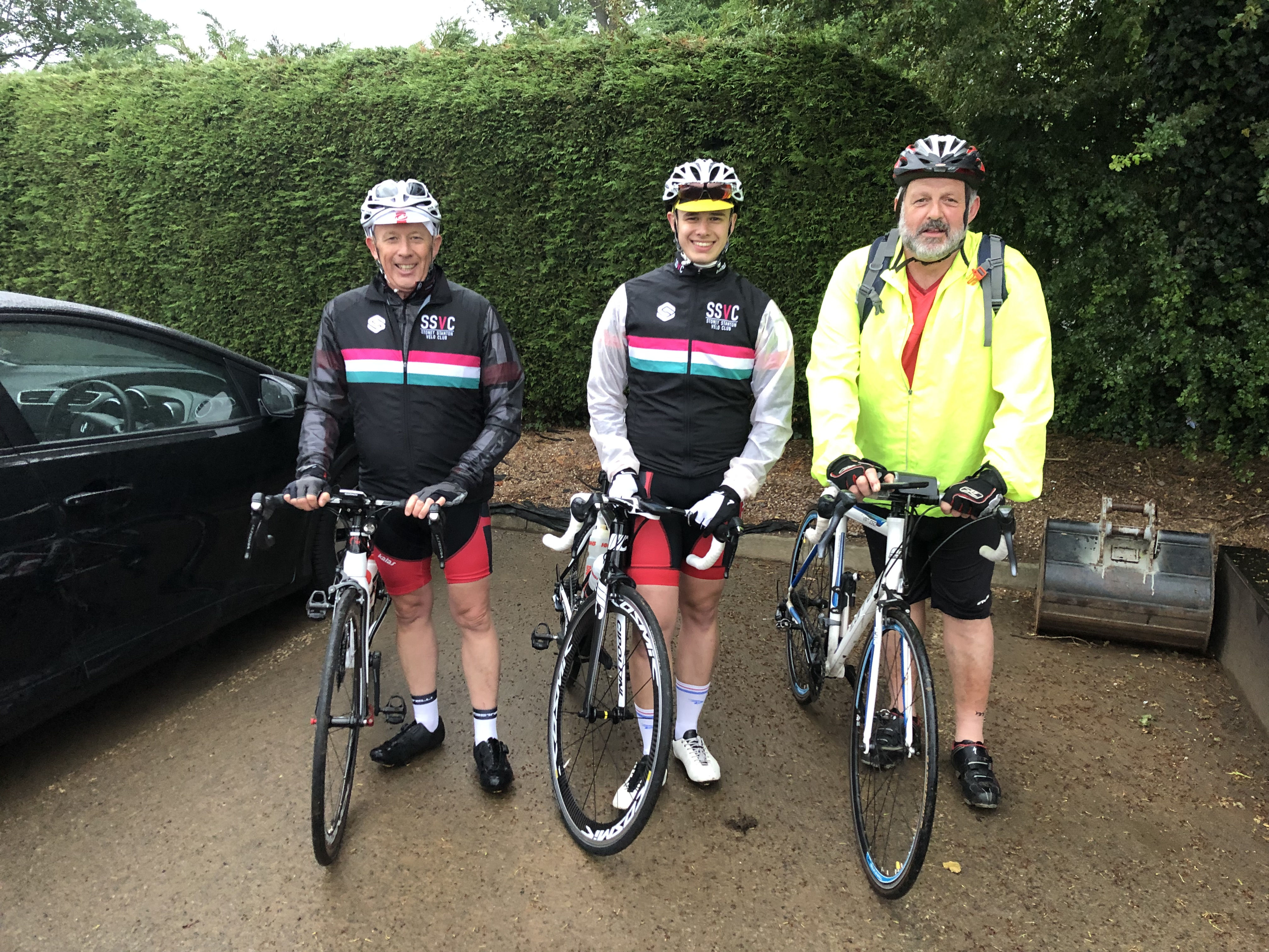 Cycling To Success Despite The Rain!